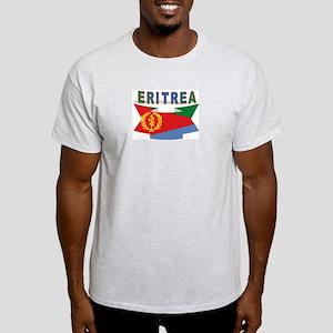 Eritrea flag ribbon Ash Grey T-Shirt