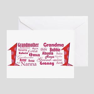 #1 Grandmother / Greeting Cards