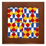 Six Bored Heralds Framed Tile