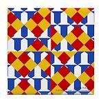 Six Bored Heralds Tile Coaster