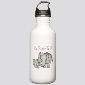 Big Sister to Be (Elephants) Stainless Water Bottl