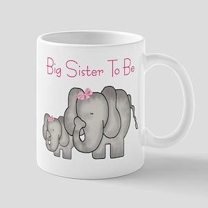 Big Sister to Be (Elephants) Mug