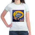 War...Invisible Jr. Ringer T-Shirt