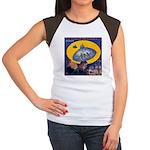 War...Invisible Women's Cap Sleeve T-Shirt