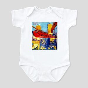 Chicago's New Monorail Infant Bodysuit