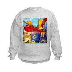Chicago's New Monorail Sweatshirt