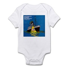 Electricity Guards Neutrality Infant Bodysuit
