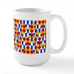 Six Bored Heralds Large Mug