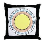 Junk Science Power Grab Throw Pillow