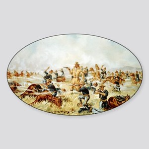 Custer Massacre at Big Horn Sticker
