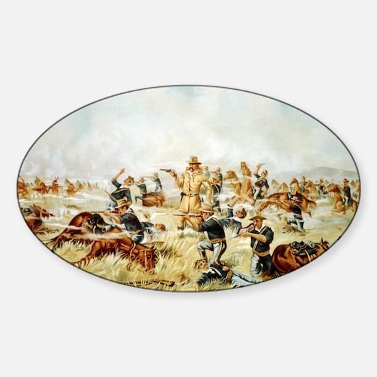 Custer Massacre at Big Horn Decal