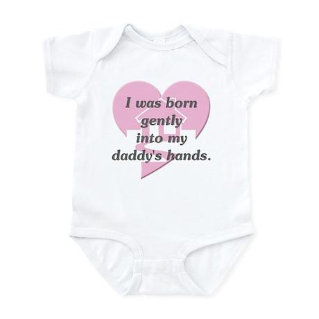 Daddy's Hands Infant Bodysuit