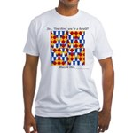 Six Bored Heralds Fitted T-Shirt