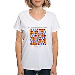 Six Bored Heralds Women's V-Neck T-Shirt