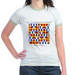 Six Bored Heralds Jr. Ringer T-Shirt