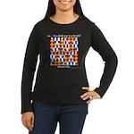 Six Bored Heralds Women's Long Sleeve Dark T-Shirt