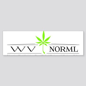 WVNORML Bumper Sticker