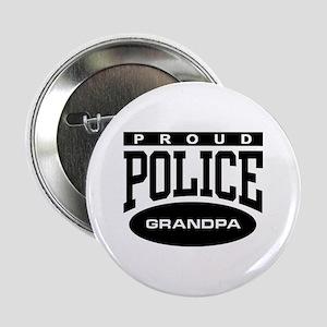 Proud Police Grandpa Button