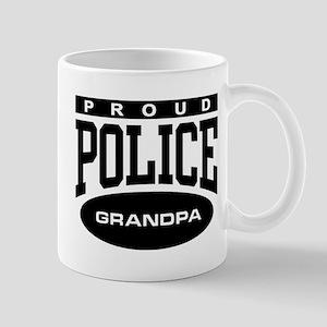 Proud Police Grandpa Mug