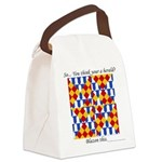 Six Bored Heralds Canvas Lunch Bag