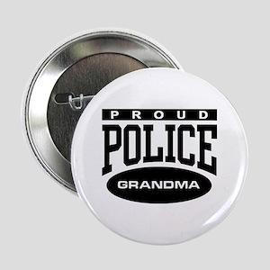 Proud Police Grandma Button