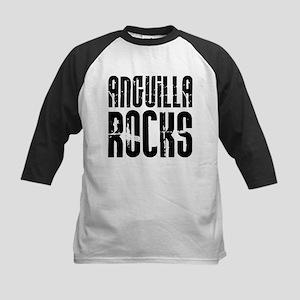 Anguilla Rocks Kids Baseball Jersey