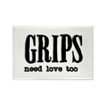 Grips Need Love, too Rectangle Magnet (10 pack)