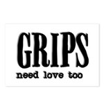 Grips Need Love, too Postcards (Package of 8)