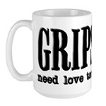 Grips Need Love, too Large Mug