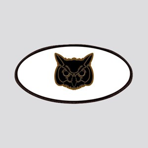 owl head 01 Patches