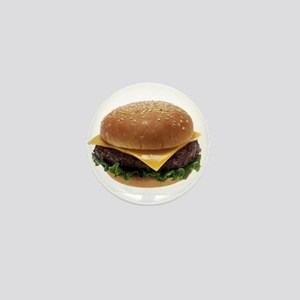 Cheeseburger Mini Button