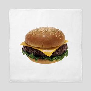 Cheeseburger Queen Duvet
