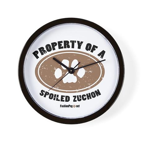 Zuchon dog Wall Clock