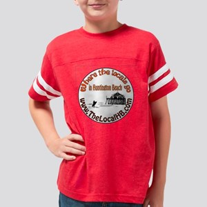 HB shirt decal-insde circle Youth Football Shirt