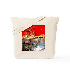 Sea-Going Ferris Wheel Tote Bag