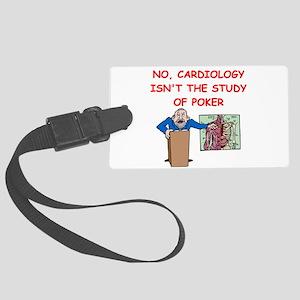 cardiology Luggage Tag