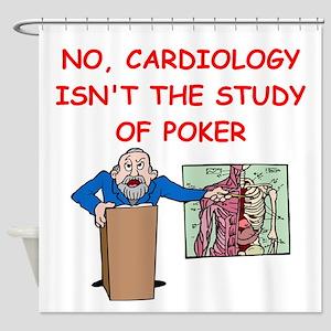 cardiology Shower Curtain