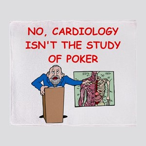 cardiology Throw Blanket