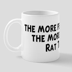 Rat Terrier: people I meet Mug