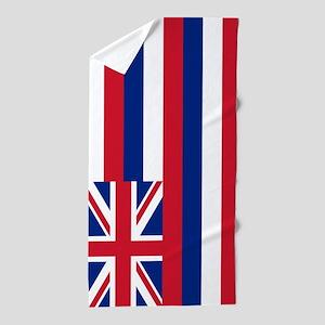 Hawaii Flag Beach Towel