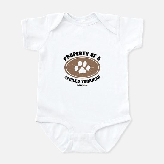 Yoranian dog Infant Bodysuit