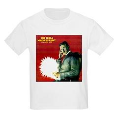 Tesla Wireless Light Kids T-Shirt