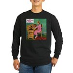 The Wireless Girl Long Sleeve Dark T-Shirt