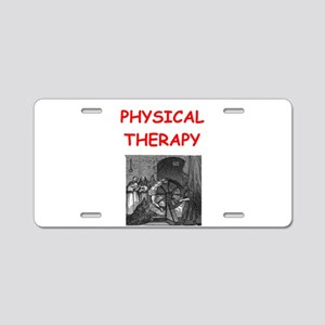 PHYSICAL2 Aluminum License Plate
