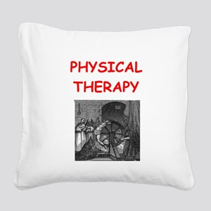 PHYSICAL2 Square Canvas Pillow