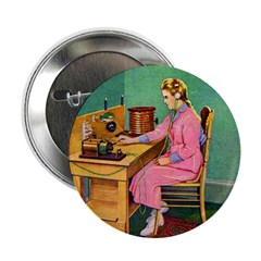 The Wireless Girl Button