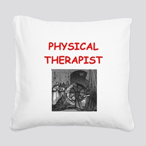 PHYSICAL1 Square Canvas Pillow