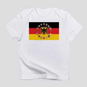 German Flag with State Arms Infant T-Shirt