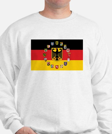 German Flag with State Arms Jumper