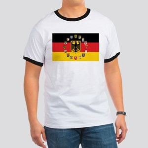 German Flag with State Arms T-Shirt